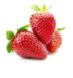 fraise dents blanches