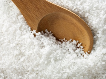 blanchiment dents maison gros sel de mer