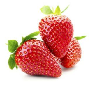 Blanchir ses dents naturellement avec la fraise