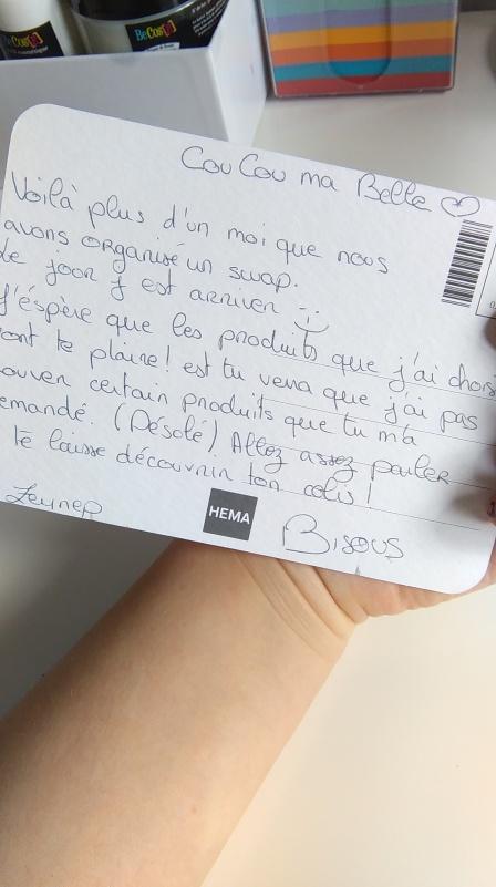 lettre swap
