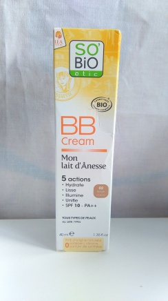 bb cream so bio etic mon lait d'anesse