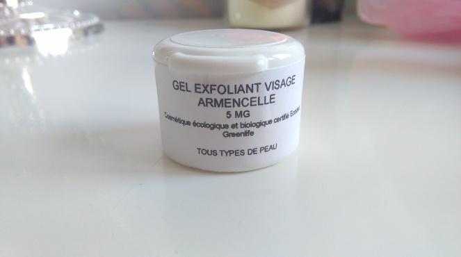 gel exfoliant visage armencelle